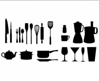Kitchen Appliances Vector Pack