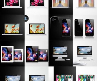 Apple Product Vector Illustration Pack