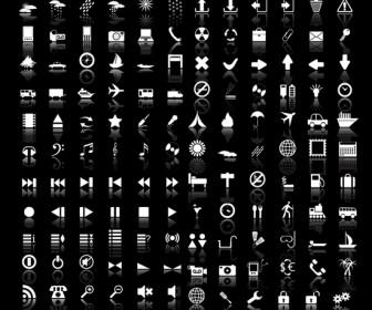 Web mini icons vector