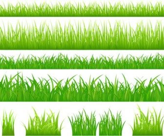 Grass Borders Template