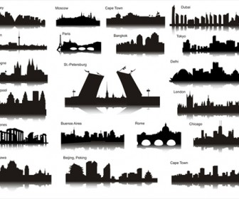 World City Silhouettes