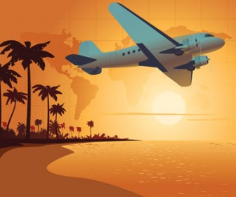 Travel Vector Landscape