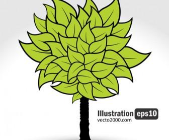 Illustration Green Tree