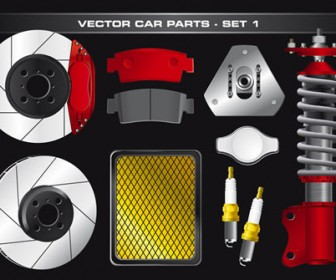 Vector Car Details Illustrations