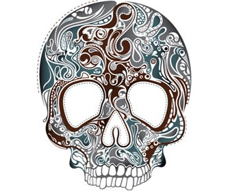 Stock Skull vector Illustrations