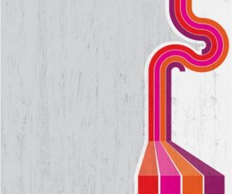 Retro Lines Background