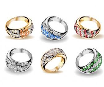 Wedding rings Vector Set