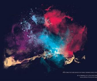 Colorful Splatter Artwork