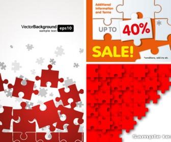 Puzzles Clipart Vector