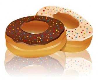 Doughnut Food Vector