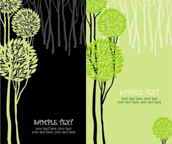 Tree Template Vector
