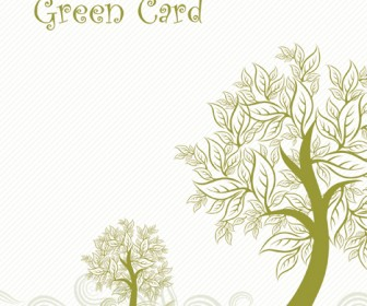 Autumn Tree Card Templete