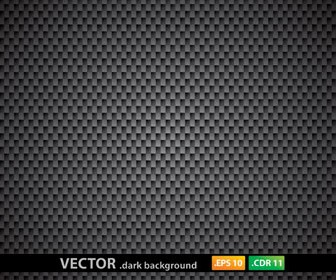 Metal Rectangle Pattern Dark Background