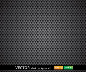 Metal Rectangle Pattern Dark Background