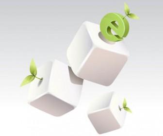 Vector blocks green