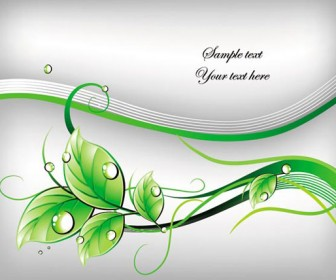 Green leaf cover art