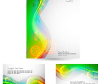 Business Style Templates Vector Art