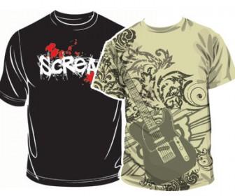 T-shirt Abstract design template