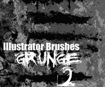 Illustrator Grunge Brush 2