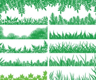 Green Grass Illustration pack