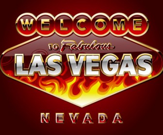 Stock Vector Lasvegas to fabulous