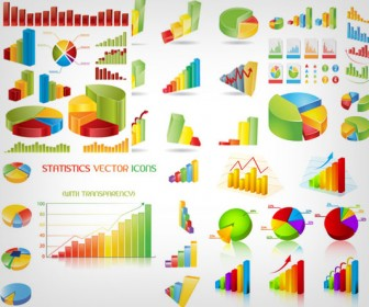 Business Charts Vector Pack