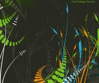 Foliage Cover Vector Illuatration