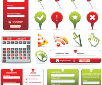 Web Form & Icon Pack
