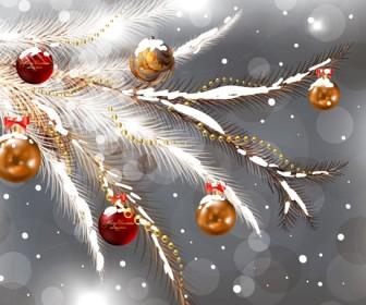 Christmas Ornaments Vector Design