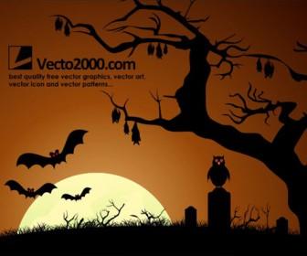 Haunted Dark Nights Background