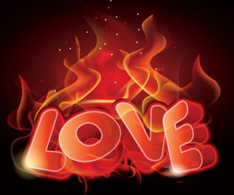 Flaming Love Poster