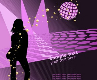 Party Poster Vector Background