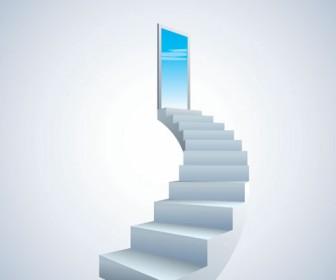Stairway Vector