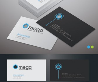 Premium elegant business card