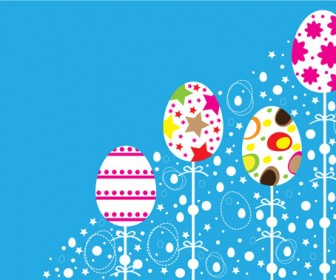 Vector Easter Ornaments design