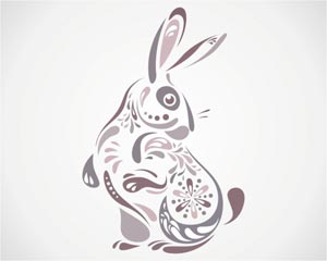 Stylized Rabbit Illustration