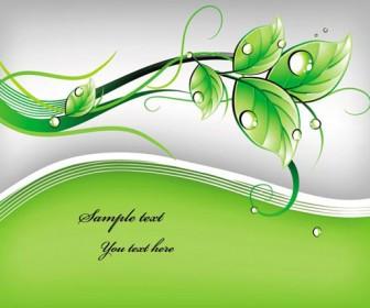 Green leaf template vector art