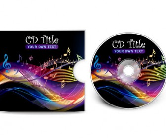 CD Cover Vector Template