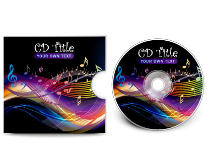 Cd Cover Vector Template Ai Svg Eps Vector Free Download