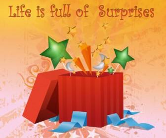 Surprise Box Illustration