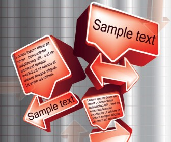 3D Bubble for Text Abstract
