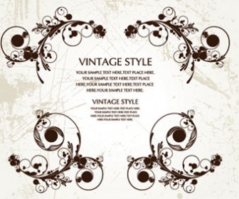 Vintage Style Vector Ilustrations