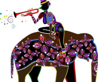 Illustration African Girl