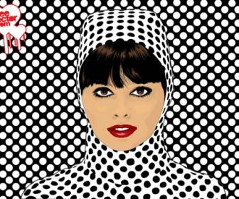 Pop Art Girl Portrait