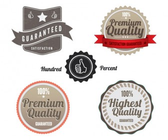 Vintage Labels Vector Pack