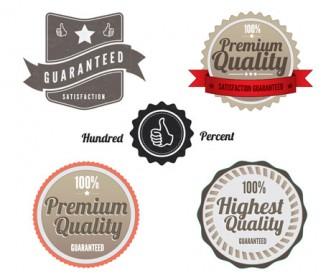 Vintage Labels Vector Pack