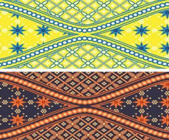 Abstract batik background