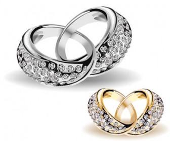 Wedding Rings Free Vector