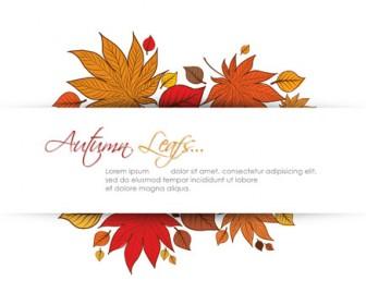 Autumn Leaf Frame