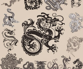 Chinese Dragons Pack